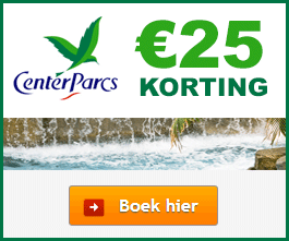Center Parcs korting
